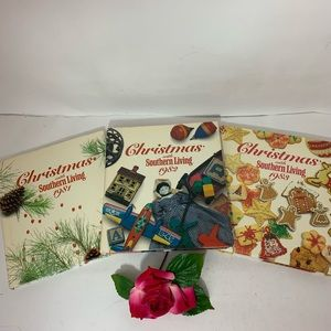 Christmas w/ Southern Living 1981 1982 1983 Bundle